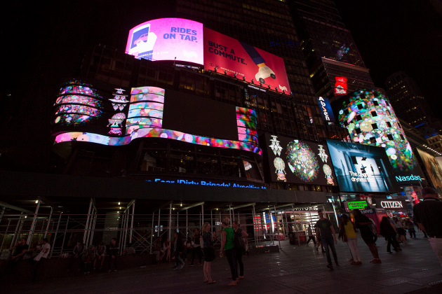 ChimaCloud (Midnight Moment, Times Square)