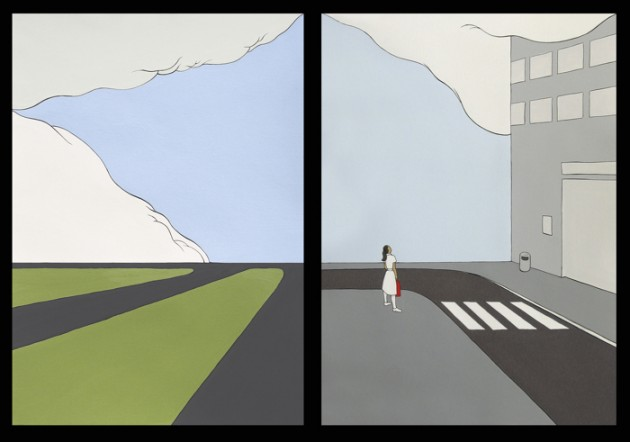 Point of Departure (Diptych)