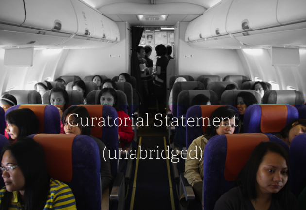 Curatorial Statement (unabridged)