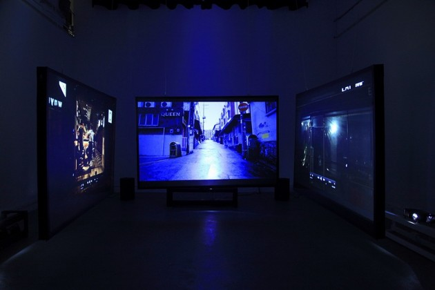 The Hill (Installation view)