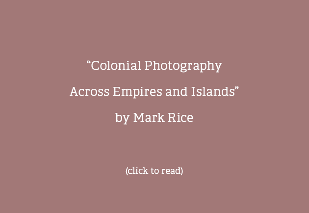 Colonial Photography Across Empires and Islands