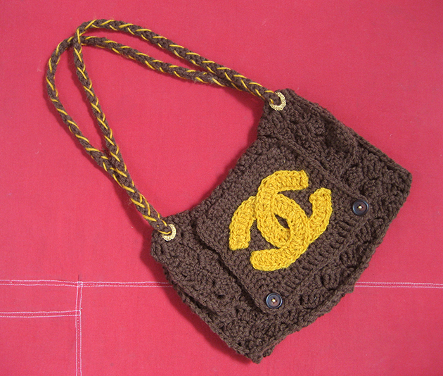 Brown Chanel Handbag