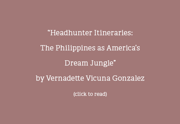 Headhunter Itineraries: The Philippines as America's Dream Jungle