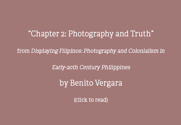 """Chapter 2: Photography and Truth"""