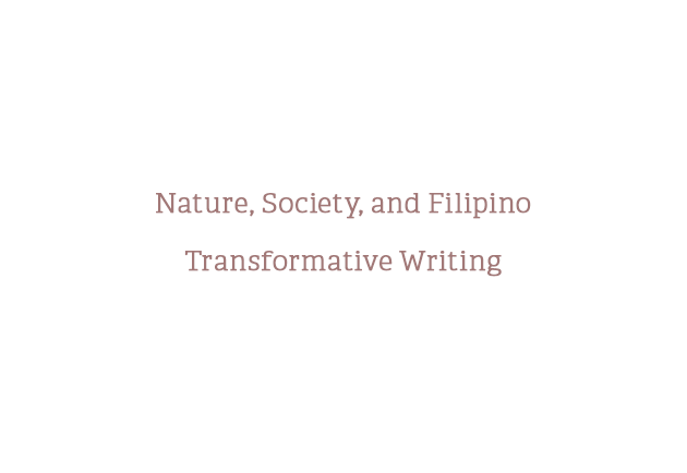 Nature, Society, and Filipino Transformative Writing: An interview with cultural theorist and poet E. San Juan, Jr.