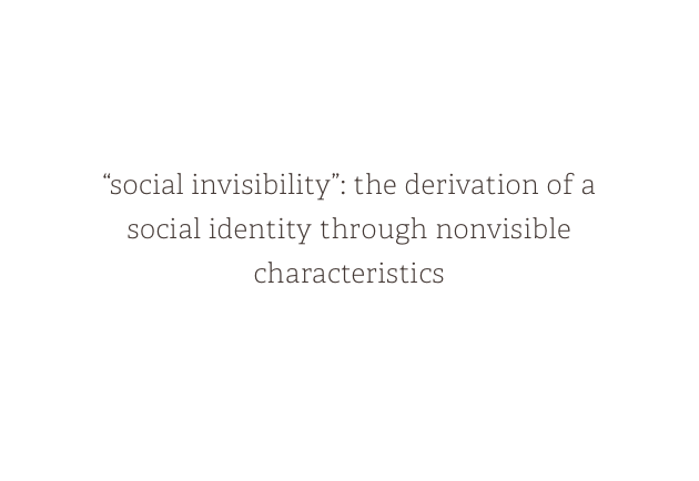The Social Invisibility Narrative in Filipino-American Feature Films